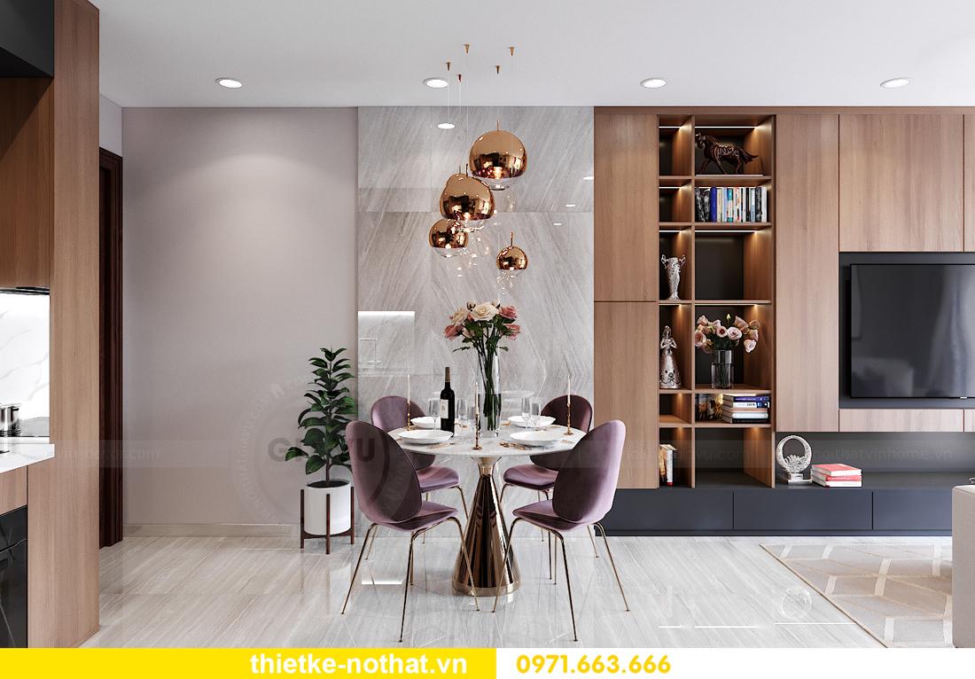 thiết kế thi công nội thất Smart City tòa S202 căn 17 chị Vy 2