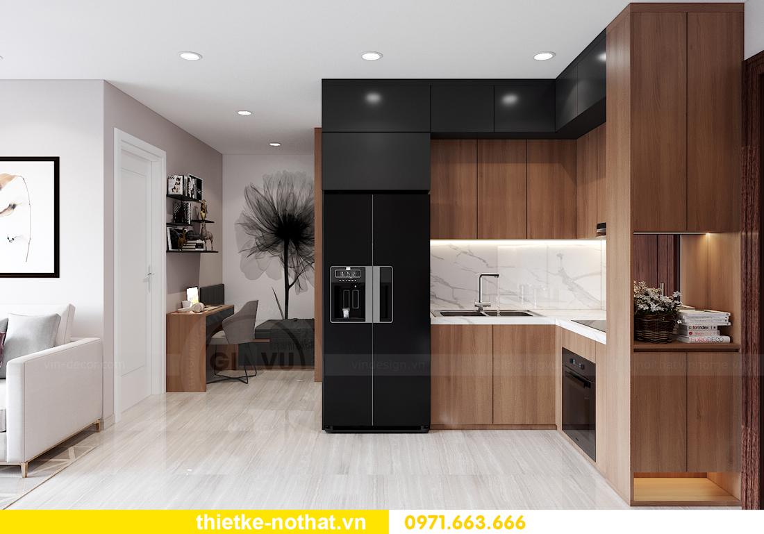 thiết kế thi công nội thất Smart City tòa S202 căn 17 chị Vy 5