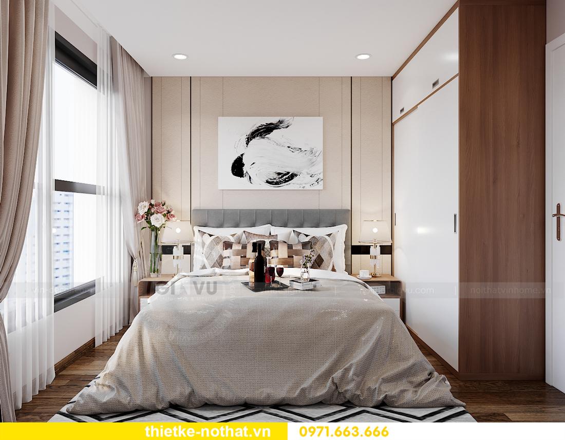 thiết kế thi công nội thất Smart City tòa S202 căn 17 chị Vy 9