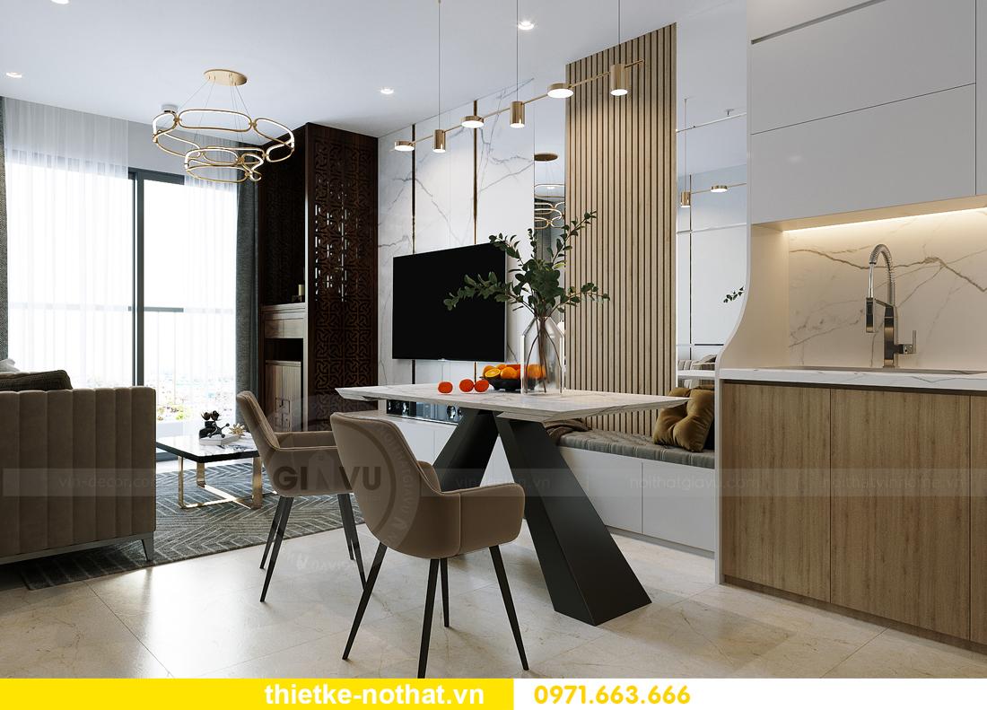 thiết kế nội thất chung cư Vinhomes Smart City tòa S201 căn 2903 2