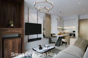 Thiết Kế Nội Thất Chung Cư Vinhomes Smart City Tòa S201 Căn 2903