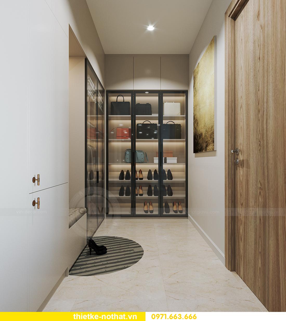 thiết kế nội thất chung cư Vinhomes Smart City tòa S201 căn 2903 6
