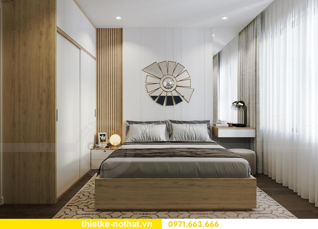 thiết kế nội thất chung cư Vinhomes Smart City tòa S201 căn 2903 8