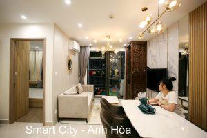 Hoàn Thiện Nội Thất Chung Cư Smart City Tòa S201 Căn 03