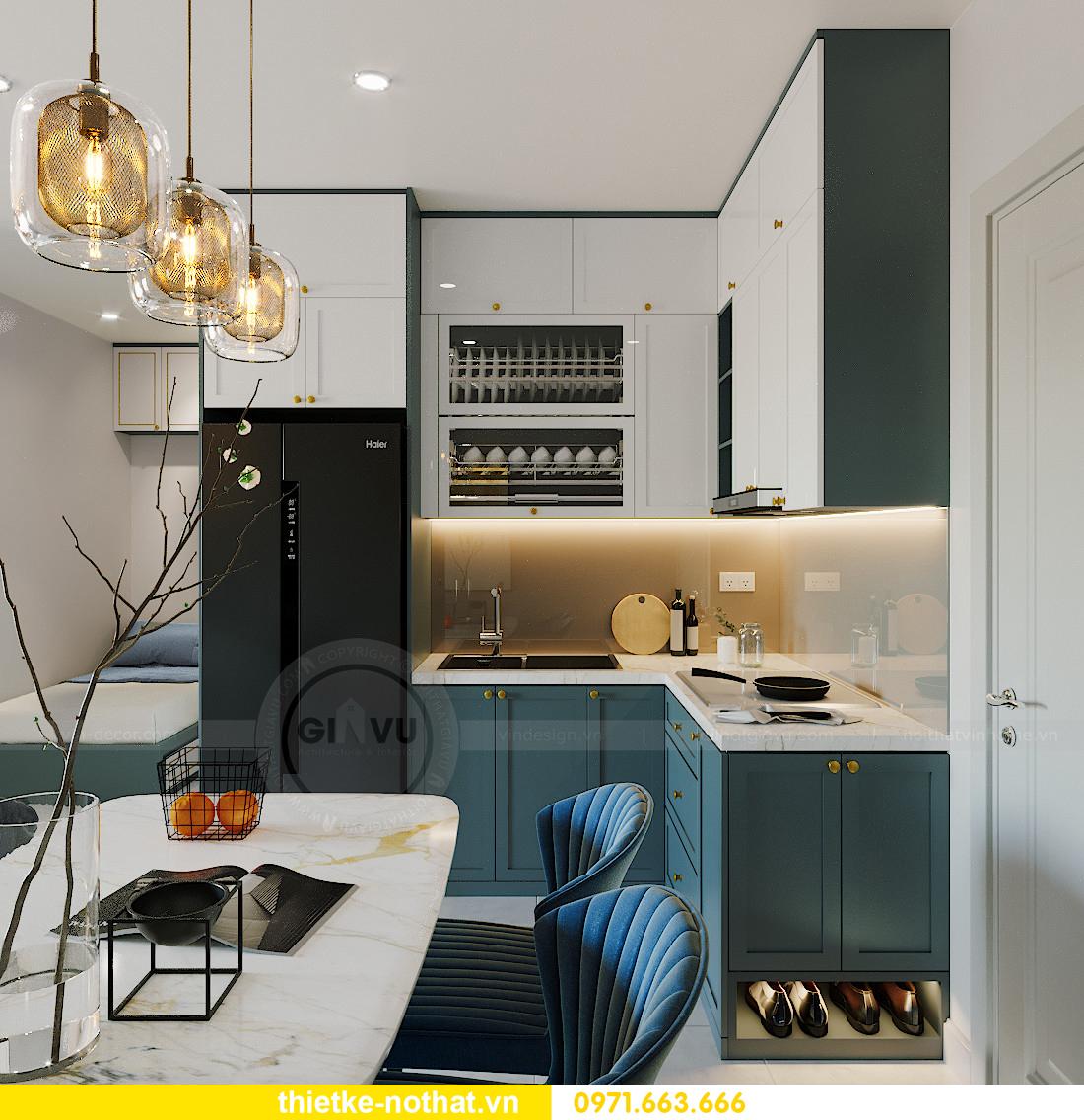 mẫu thiết kế nội thất căn hộ Smart City tòa S201 căn 18 1