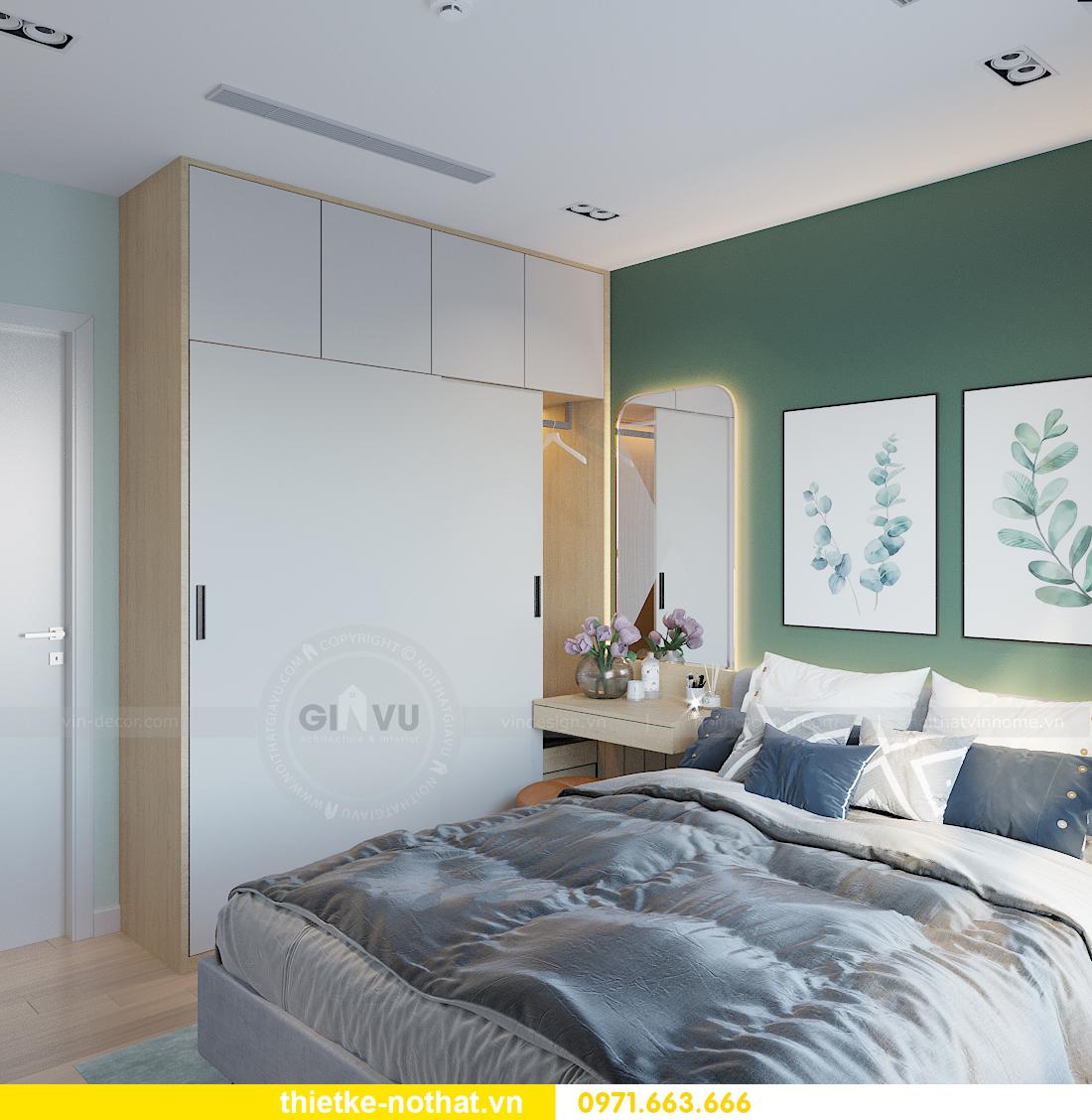 thiết kế nội thất chung cư Smart City tòa S101 căn 11 11