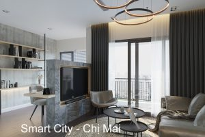 Thiết Kế Nội Thất Chung Cư Smart City Tòa S101 Căn 11