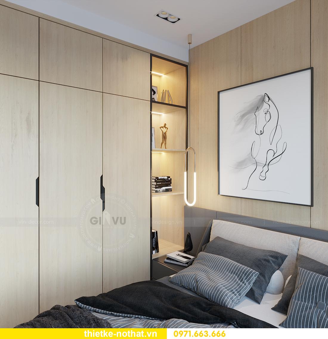 thiết kế nội thất chung cư Smart City tòa S101 căn 11 7
