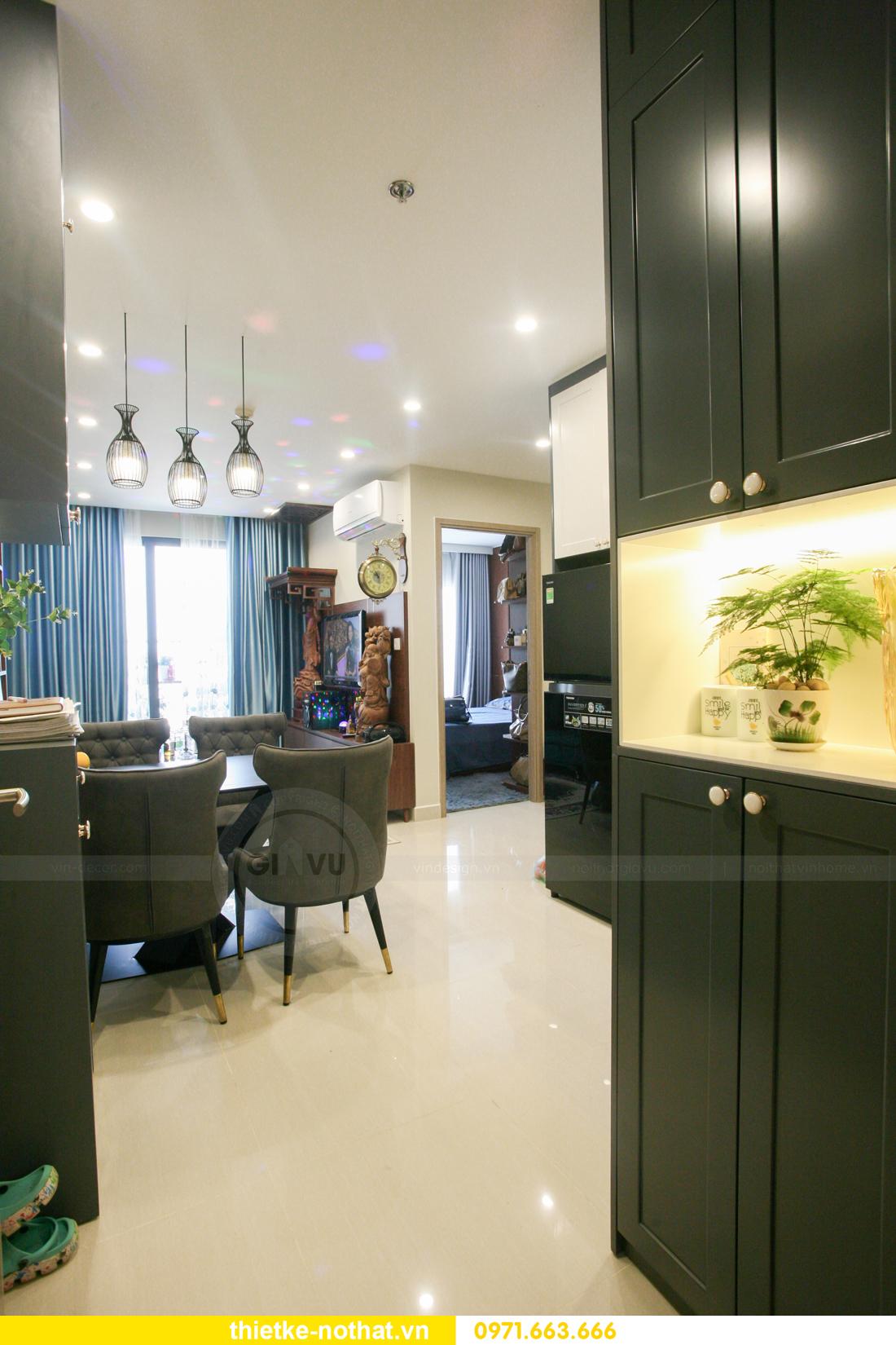 thi công nội thất căn hộ Vinhomes Smart City nhà anh Hân 1