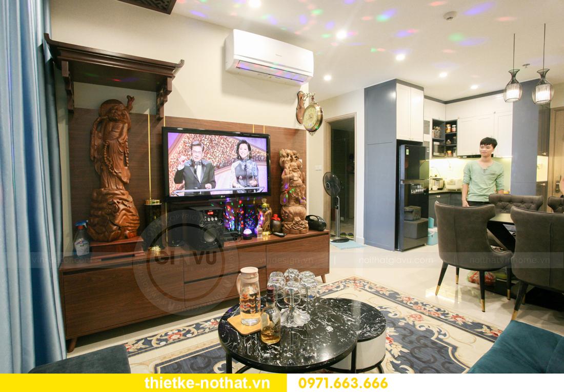 thi công nội thất căn hộ Vinhomes Smart City nhà anh Hân 11