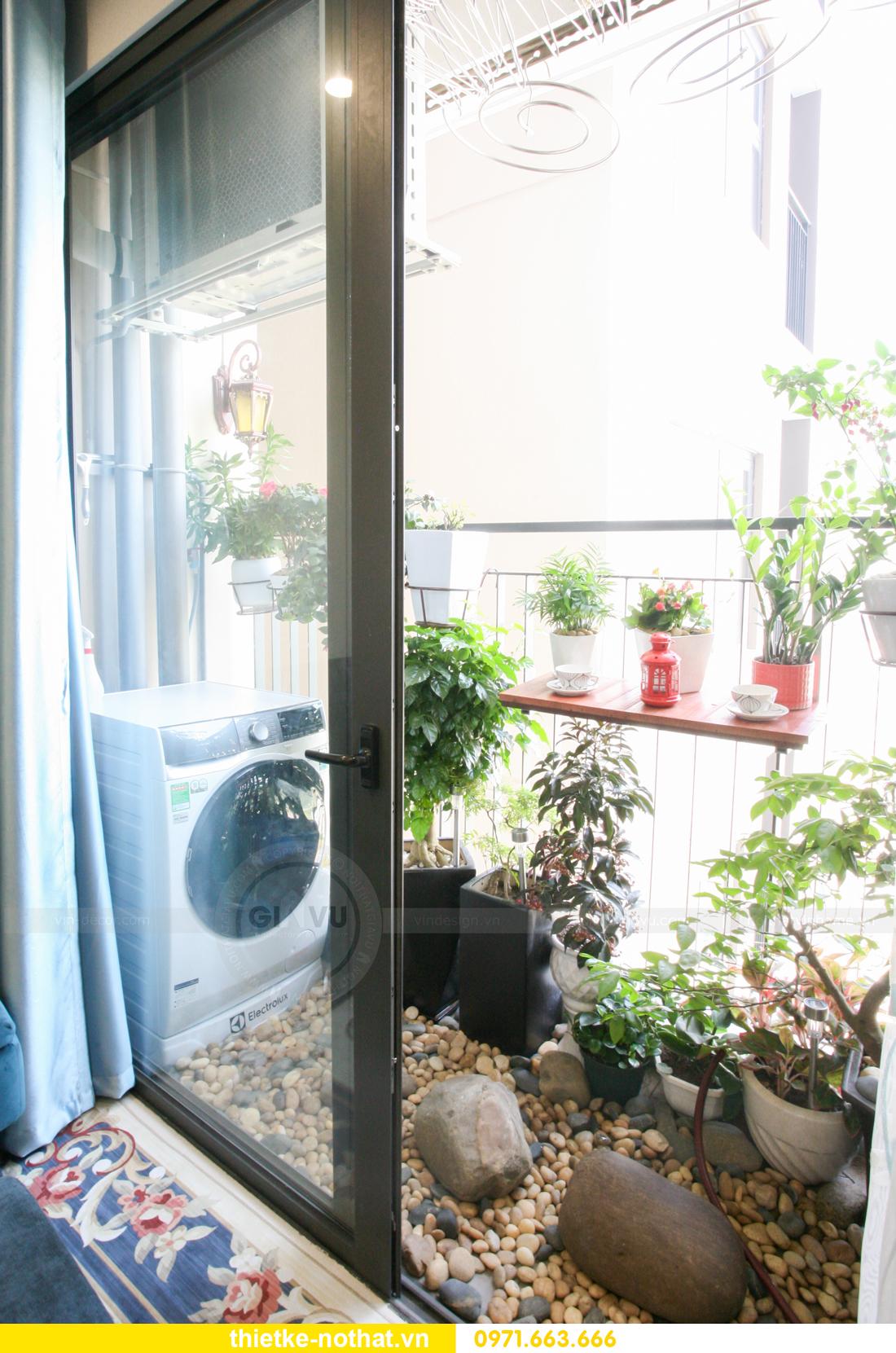 thi công nội thất căn hộ Vinhomes Smart City nhà anh Hân 12