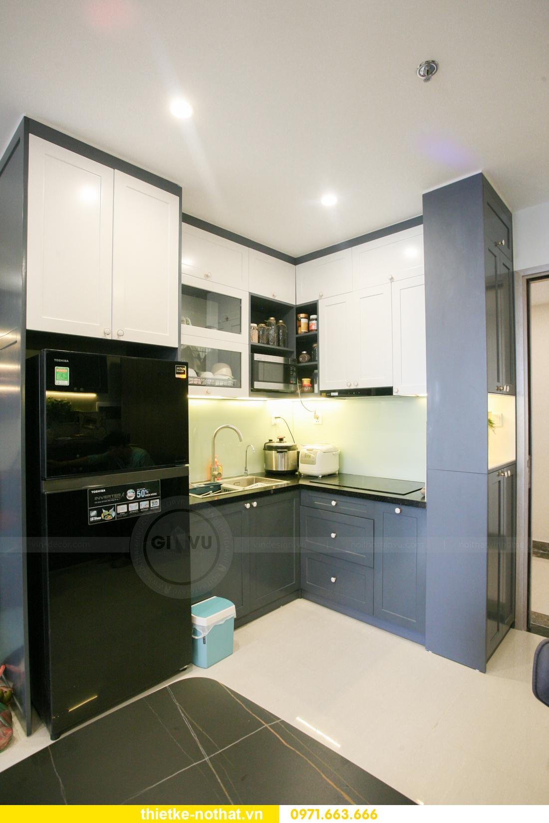 thi công nội thất căn hộ Vinhomes Smart City nhà anh Hân 3