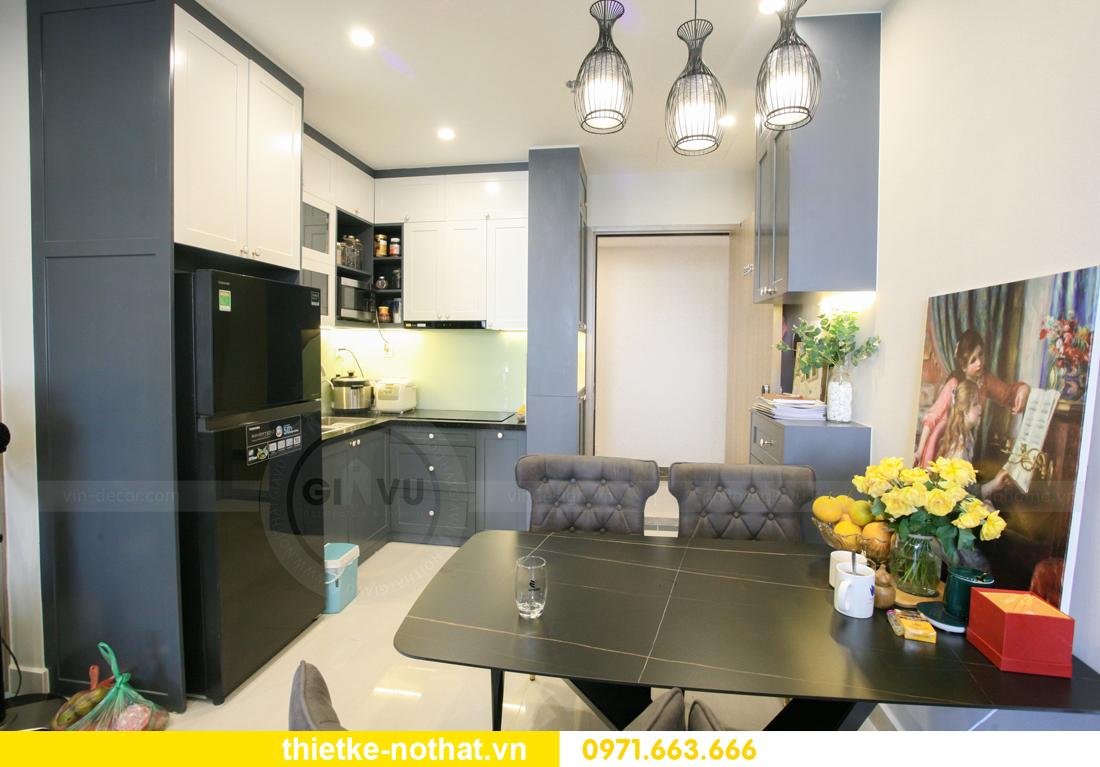 thi công nội thất căn hộ Vinhomes Smart City nhà anh Hân 4
