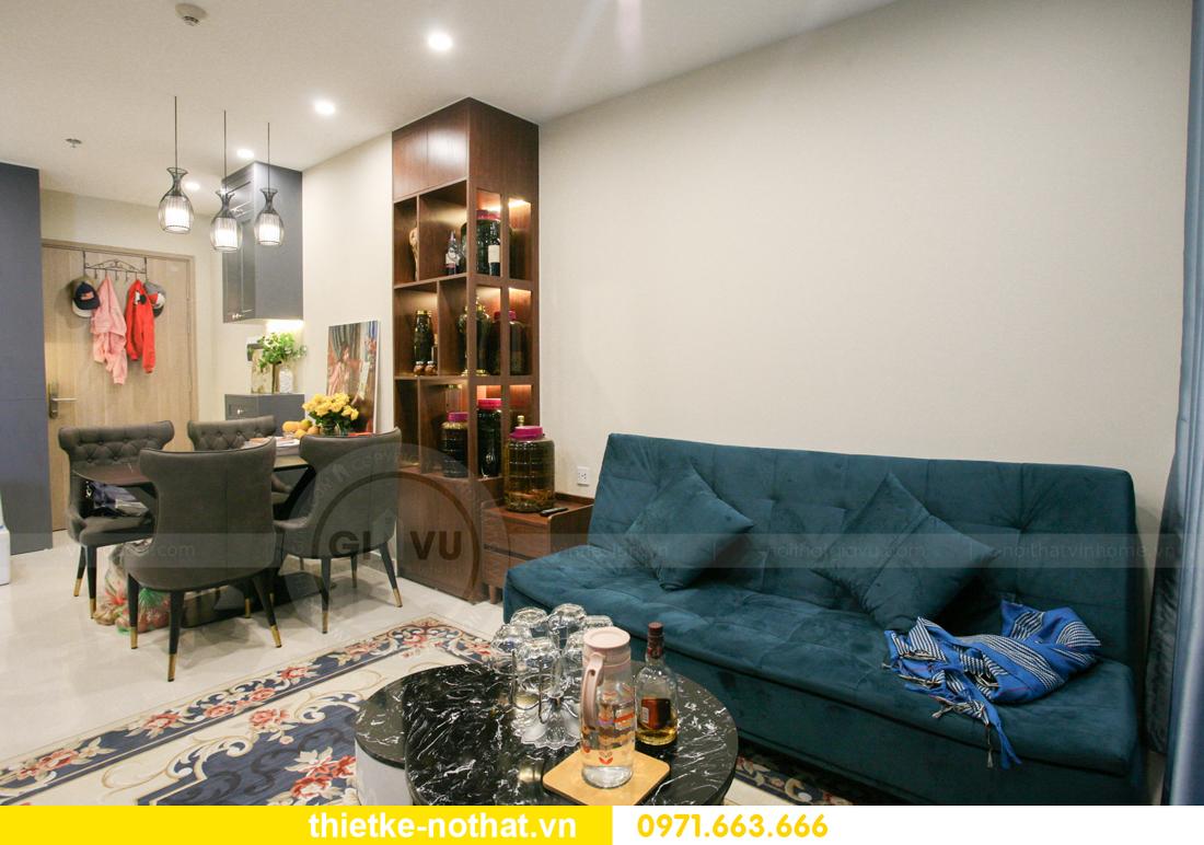 thi công nội thất căn hộ Vinhomes Smart City nhà anh Hân 7
