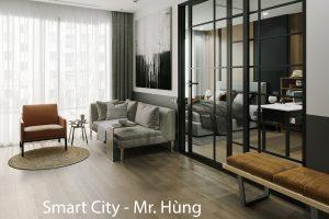 Thiết Kế Nội Thất Căn Hộ Chung Cư Smart City Tòa S102 Căn 09