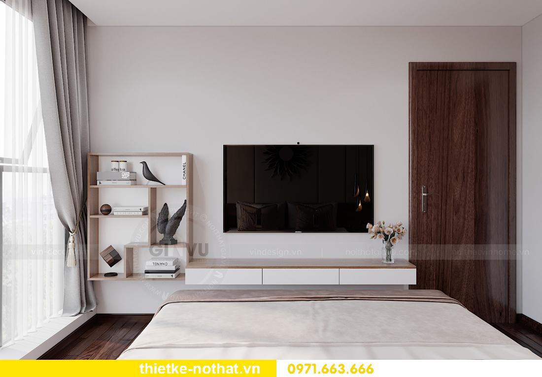 thiết kế nội thất chung cư Smart City tòa S302 căn hộ 2 ngủ 8
