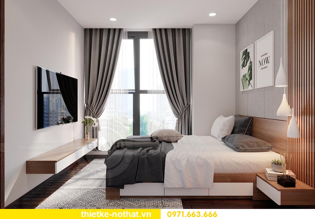 thiết kế nội thất chung cư Smart City tòa S302 căn hộ 2 ngủ 9