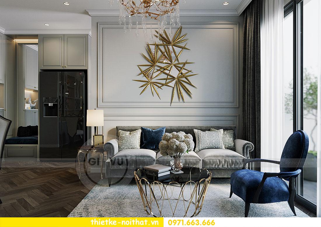 Thiết kế thi công nội thất chung cư Dcapitale tòa C1 căn 09 - Ms.Hường 1