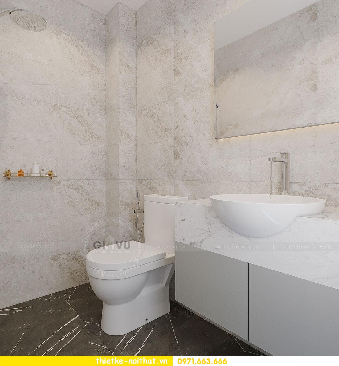 Thiết kế thi công nội thất chung cư Dcapitale tòa C1 căn 09 - Ms.Hường 16