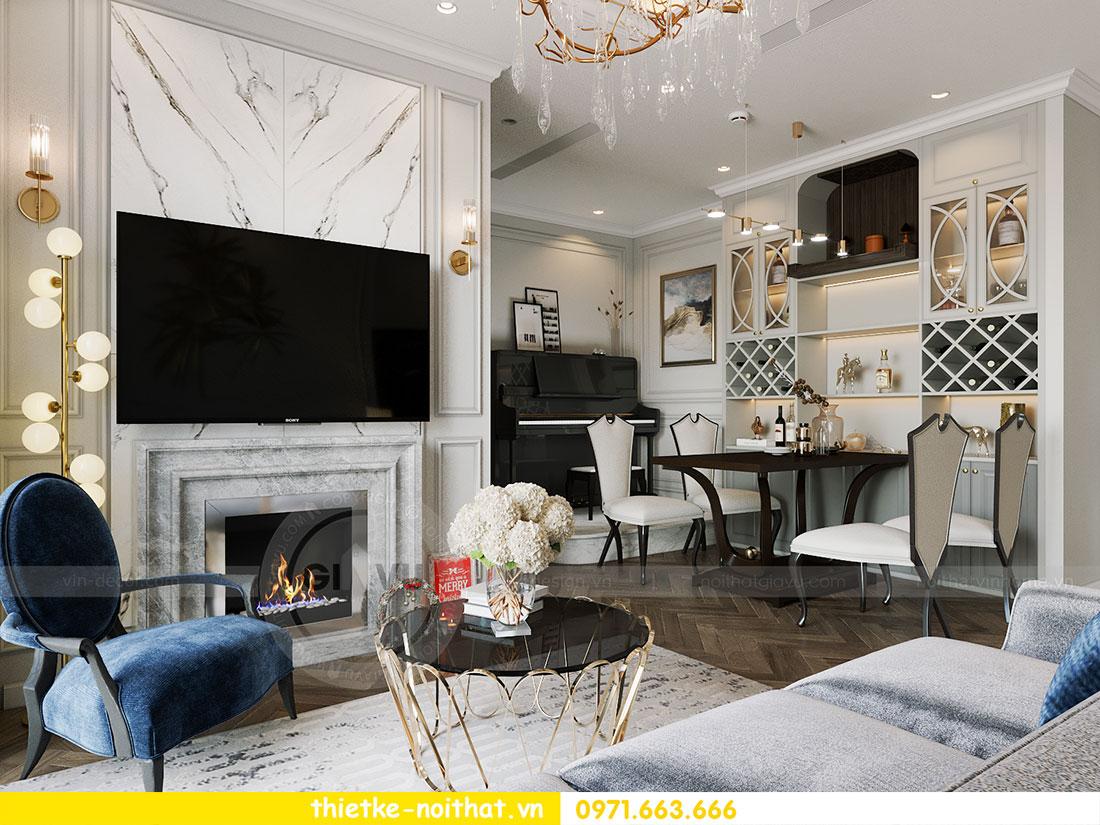 Thiết kế thi công nội thất chung cư Dcapitale tòa C1 căn 09 - Ms.Hường 2