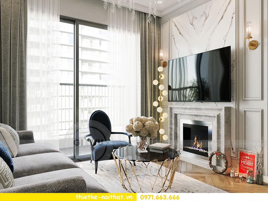 Thiết kế thi công nội thất chung cư Dcapitale tòa C1 căn 09 - Ms.Hường 3
